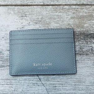 Kate spade NIMBUS GRAY small slim card holder